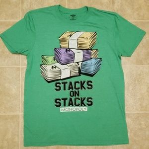 Monopoly Stacks on Stacks T-shirt | Men's Medium